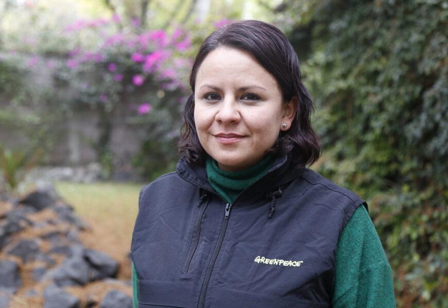 Aleira Lara, directora de campañas en Greenpeace México.
