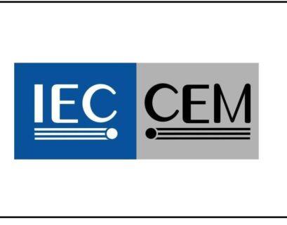Logo Comité Electrotécnico Mexicano de la Comisión Electrotécnica Internacional