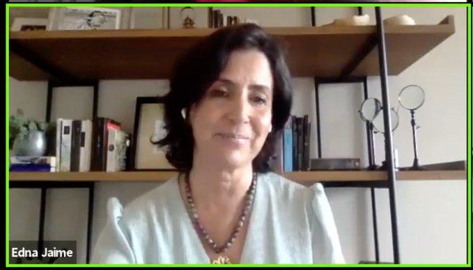 Edna Jaime, directora general de México Evalúa