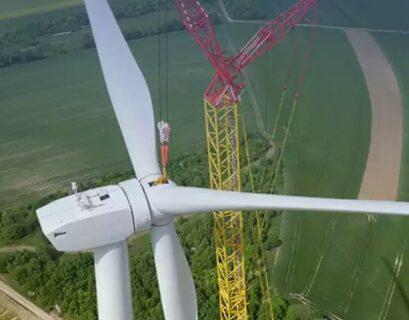 Turbinas 200 m alto