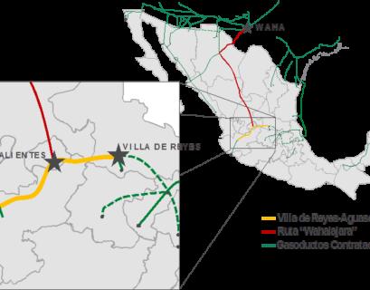 Inicia operaciones gasoducto VAG de Fermaca