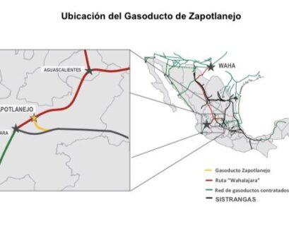 Gasoducto de Zapotlanejo entra en operación comercial