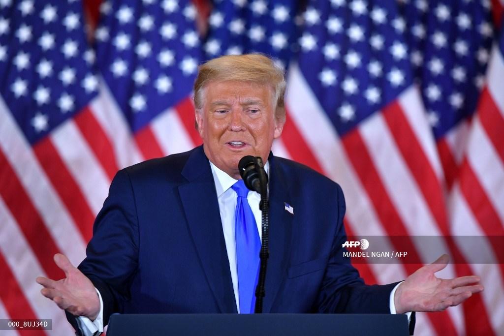 En la imagen, Donald Trump quien perdió la elección.