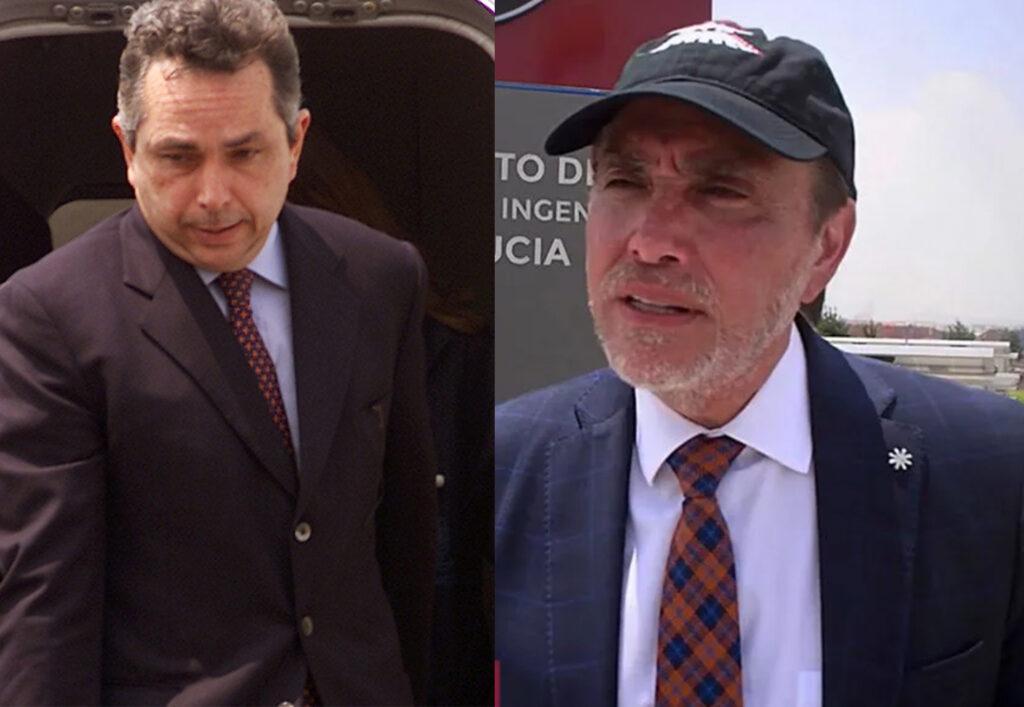 En la imagen, Alejandro del Valle y Carlos Cabal Peniche, quienes adquirieron 90% de las acciones de Interjet.